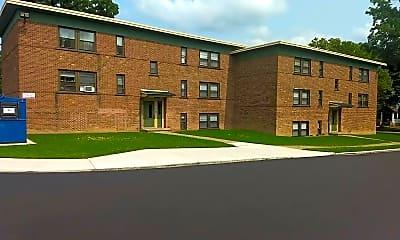 Building, Huntington Park Apartments, 0