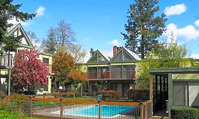 Pool, Timberwood Apartments, 0