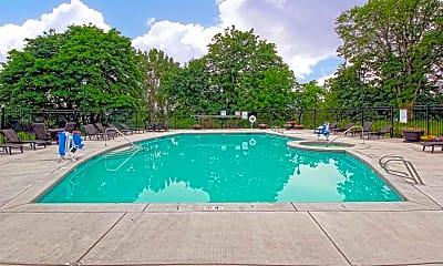 Pool, Columbia View Apartments, 2