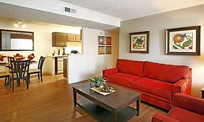 Living Room, Parkwood Apartments, 0