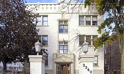 Building, Magnolias Apartments, 0