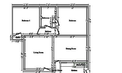 Bedroom, 6301 Delmar Blvd, 2