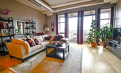 Living Room, 1550 S Blue Island Ave 405, 2