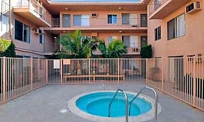 Pool, Balboa Pointe Apartments, 1