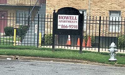 Howell Apartments, 1