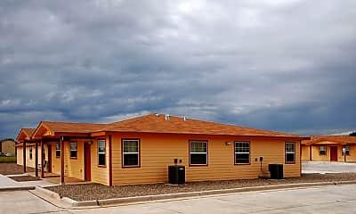 Building, Echols Place Apartments, 2