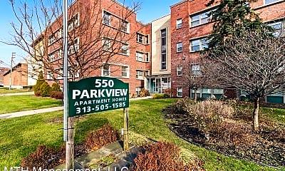 Building, 550 Parkview Dr, 1