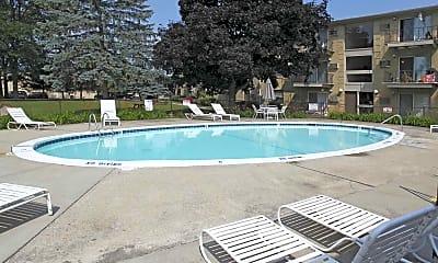 Pool, Polo Club, 1