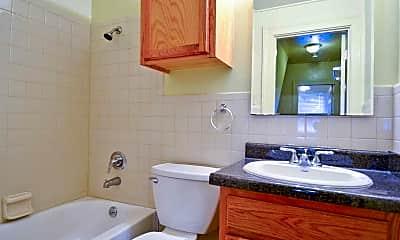 Bathroom, Barksdale Family Housing, 2