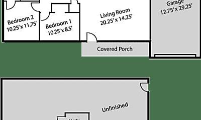Building, 2309 Highland Dr, 2