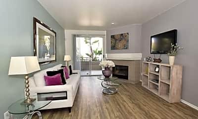 Living Room, River Front Condominium Rentals, 1