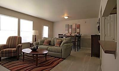 Living Room, Pinehurst Apartment Homes, 1