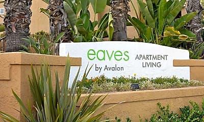 Community Signage, eaves La Mesa, 2