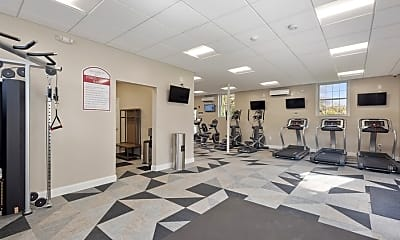 Fitness Weight Room, Spring Brook at Chatham, 2