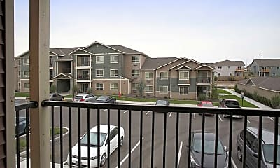 Patio / Deck, Copper Ridge Apartments, 2