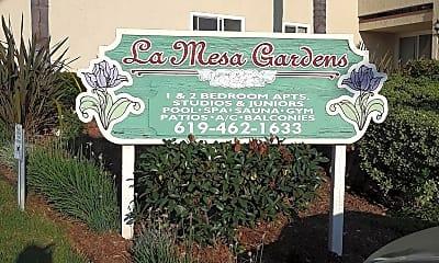 La Mesa Gardens, 1