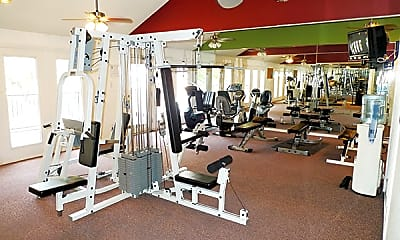 Fitness Weight Room, District West, 2