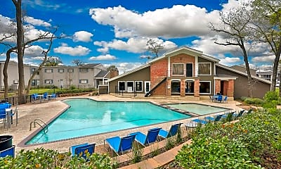 Pool, Bend at Oak Forest, 0
