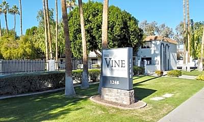 Community Signage, The Vine Apartments, 0