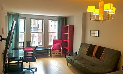 Living Room, 915 E St NW, 1