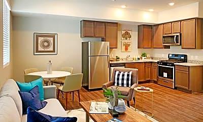Living Room, Mariner's Landing, 1