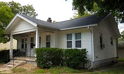 Building, 2217 Vine St, 1
