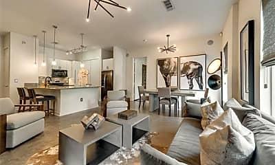 Living Room, 2950 McKinney Ave 204, 1