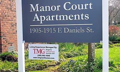 Community Signage, 1905 Daniels St, 2