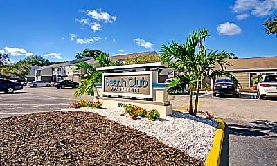 Community Signage, Beach Club, 2