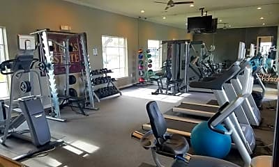 Fitness Weight Room, The Edge, 2