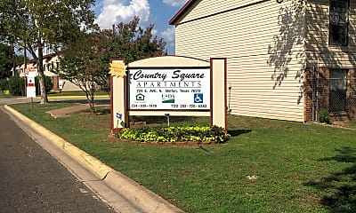Country Square Apartments, 1