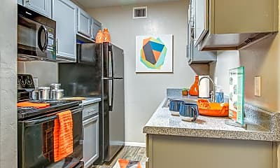 Kitchen, The Agave Apartments, 1