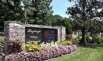 Community Signage, Hayleigh Village Apartments, 2