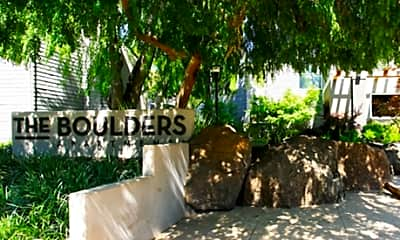Community Signage, The Boulders, 2