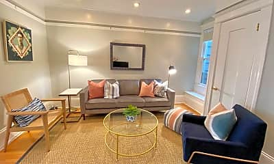 Living Room, 2554A Gough St, 1