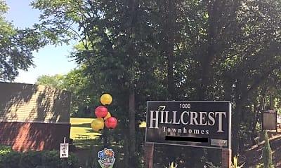 Community Signage, Hillcrest Townhomes, 2
