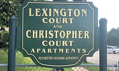 Lexington Court Apartments, 1