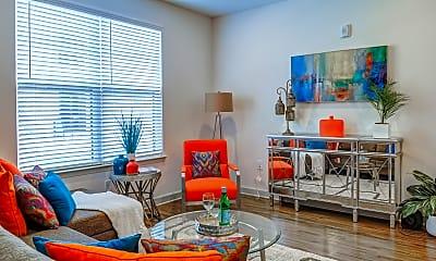 Living Room, Riverside Flats at Aberfoyle, 1
