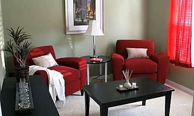 Living Room, Sawgrass Creek Apartments, 1