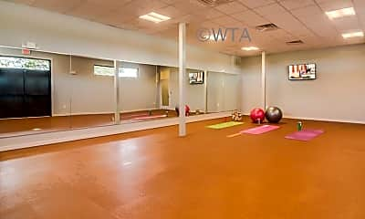 Fitness Weight Room, 8010 Aeromedical, 0