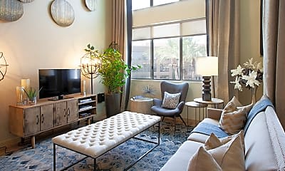 Living Room, Residences at Fountainhead, 1