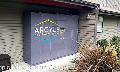 Community Signage, The Argyle, 1