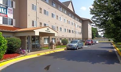 Building, Riverview Suites, 0