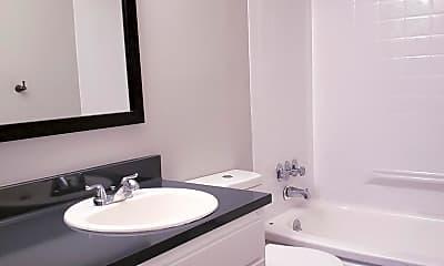 Bathroom, Huntington Apartments, 2