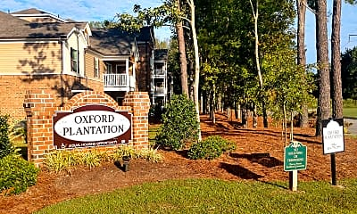 Community Signage, Oxford Plantation, 2