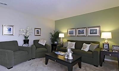 Living Room, Ridgeview Apartment Homes, 1