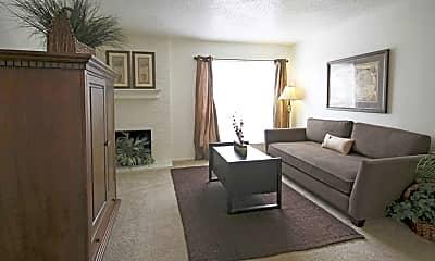 Living Room, Hunters Crossing, 0