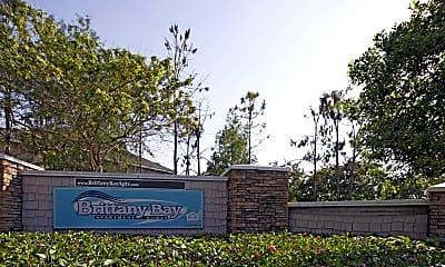 Community Signage, Brittany Bay Apartments, 2
