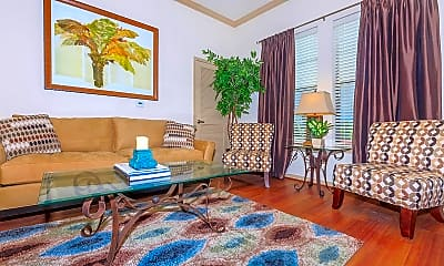 Living Room, The Huntington at Sienna Plantation, 1
