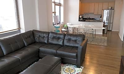 Living Room, 1201 W Adams St 908, 1